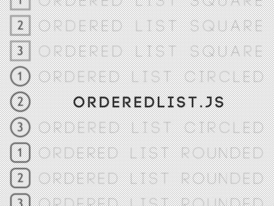 orderedList.js