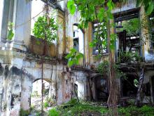 廃墟の様子を想像しては見ていたものの