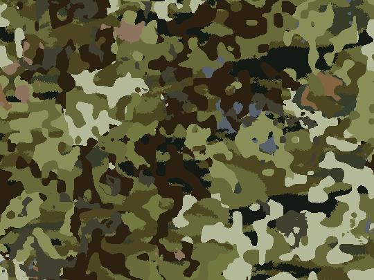 カモフラージュ柄のパターン