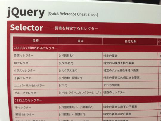 ドーナツ本はWeb制作のよく使いそうなチートシート