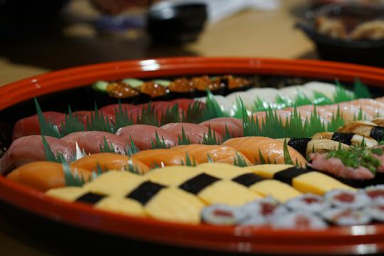 寿司は最高